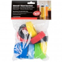 Assorted Silicone Sauce Bands for 53mm Bottles
