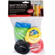 Assorted Silicone Sauce Bands for 63mm Bottles