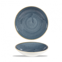 Churchill Stonecast Blueberry Coupe Bowl 24.8cm
