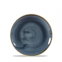 Churchill Stonecast Blueberry Coupe Plate 16.5cm