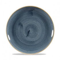 Churchill Stonecast Blueberry Coupe Plate 21.7cm