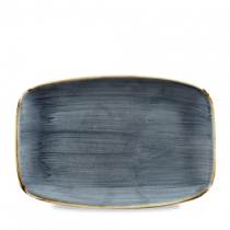 Churchill Stonecast Blueberry Oblong Plate 30 x 19.9cm