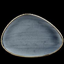 Churchill Stonecast Blueberry Triangle Plate 36.5 x 25cm