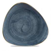Churchill Stonecast Blueberry Triangle Plate 26.5cm