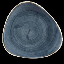 Churchill Stonecast Blueberry Triangle Plate 31.1cm
