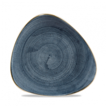Churchill Stonecast Blueberry Triangle Plate 22.9cm