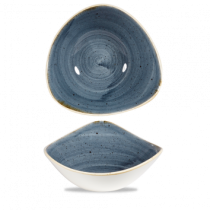 Churchill Stonecast Blueberry Triangle Bowl 23.5cm
