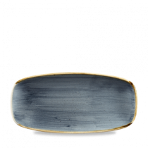 Churchill Stonecast Blueberry Oblong Plate 26.9 x 12.7cm