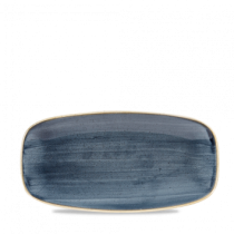 Churchill Stonecast Blueberry Oblong Plate 29.8 x 15.3cm
