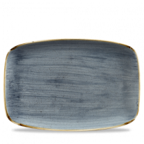 Churchill Stonecast Blueberry Oblong Plate 35.5 x 24.5cm