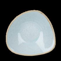 Churchill Stonecast Duck Egg Triangle Bowl 23.5cm