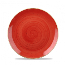 Churchill Stonecast Berry Red Coupe Bowl 24.8cm