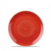 Churchill Stonecast Berry Red Coupe Plate 16.5cm