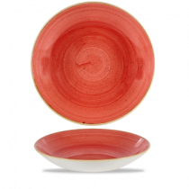 Churchill Stonecast Berry Red Coupe Bowl 31cm