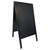 Sandwich A-Board Black 70 x 120cm