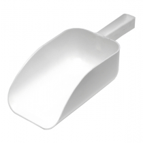 Plastic Flat Bottom Scoop 0.1 Ltr