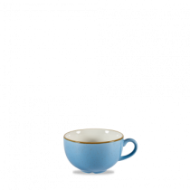 Churchill Stonecast Cornflower Blue Cappuccino Cup 22.7cl