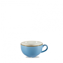 Churchill Stonecast Cornflower Blue Cappuccino Cup 34cl