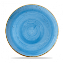 Churchill Stonecast Cornflower Blue Coupe Plate 26cm
