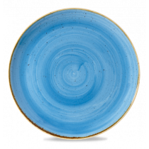 Churchill Stonecast Cornflower Blue Coupe Plate 32.4cm