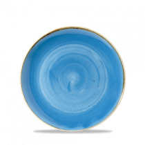 Churchill Stonecast Cornflower Blue Coupe Bowl 18.2cm