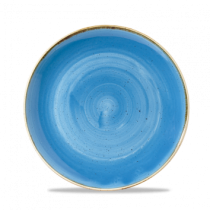 Churchill Stonecast Cornflower Blue Coupe Bowl 24.8cm