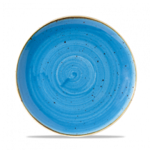 Churchill Stonecast Cornflower Blue Coupe Plate 21.7cm