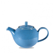 Churchill Stonecast Cornflower Blue Beverage Pot 42.6cl