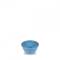 Churchill Stonecast Cornflower Blue Sauce Dish 9cl 3oz