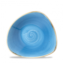 Churchill Stonecast Cornflower Blue Triangle Bowl 18.5cm