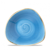 Churchill Stonecast Cornflower Blue Triangle Bowl 23.5cm