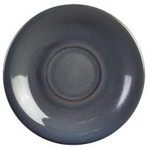 Terra Stoneware Saucer Rustic Blue 15cm