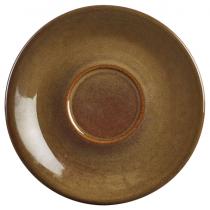 Terra Stoneware Saucer Rustic Brown 15cm