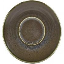 Terra Porcelain Cinder Black Espresso Cup Saucer 11.5cm