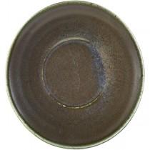 Terra Porcelain Cinder Black Coffee Cup Saucer 14.5cm