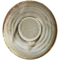 Terra Porcelain Smoke Grey Espresso Saucer 11.5cm