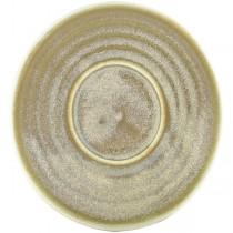 Terra Porcelain Matt Grey Espresso Cup Saucer 11.5cm
