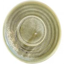 Terra Porcelain Matt Grey Coffee Cup Saucer 14.5cm