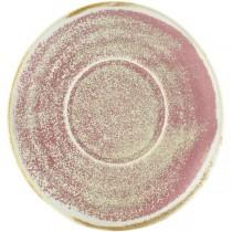 Terra Porcelain Rose Coffee Cup Saucer 14.5cm