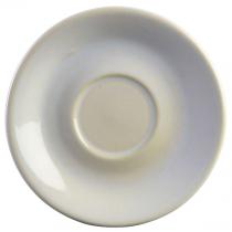 Terra Stoneware Saucer Rustic White 15cm