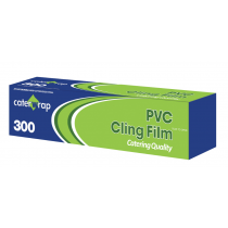 Caterwrap Catering Cling Film PVC 300mm