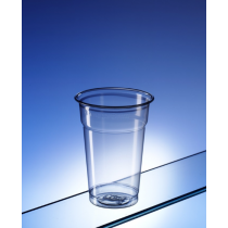 Recyclable PET Half Pint To Rim Tumbler 10oz / 284ml