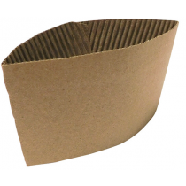 Kraft Cup Sleeves For 8/10oz Cups