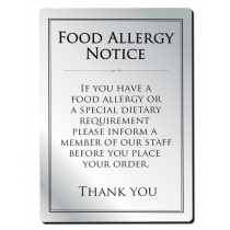 Food Allergy Sign