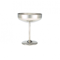 Stainless Steel Cocktail Coupe Glass 10.5oz / 30cl