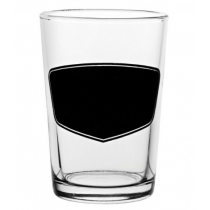 Conical Third Of A Pint Glasses with Blackboard CE 7oz / 20cl
