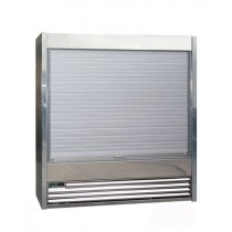 Frost Tech Stainless Steel Tiered Display 2500mm Wide