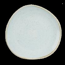 Churchill Stonecast Duck Egg Organic Round Plate 21cm