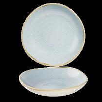 Churchill Stonecast Duck Egg Organic Round Bowl 25.3cm