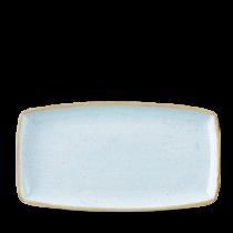 Churchill Stonecast Duck Egg Oblong Plate 29.5 x 15cm